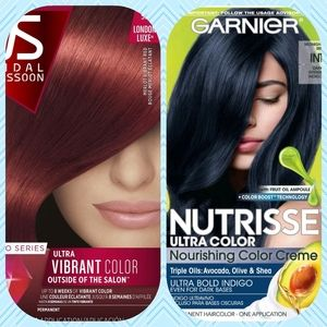 💆NWT💆 Boxes of Red & Blue permanent hair color💆